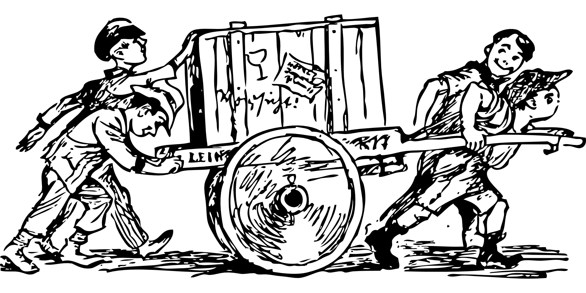 Hohberg-Treffen / Arbeit – Last und Lust